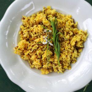 Kitchari mit grünen Mungbohnen