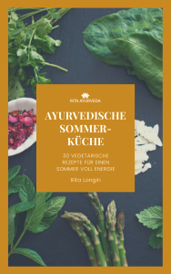 Ayurvedische Sommerküche Cover