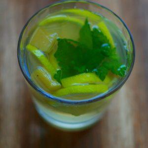 Rhabarber-Limo