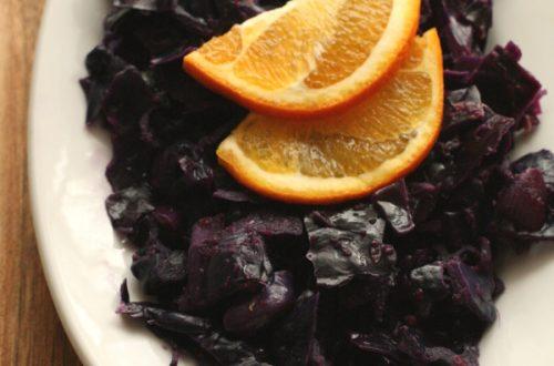 Ingwer-Orangen-Rotkraut