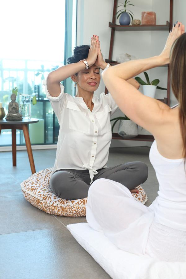 Yoga Homeoffice Büro